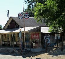 Sheep Ranch Store & Gas Station - Calaveras County, CA by Rebel Kreklow