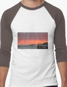 Stormy Sunset Men's Baseball ¾ T-Shirt