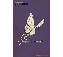 Persona 1 Minimalist Poster Photographic Print
