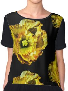 My God Is The Sun Chiffon Top