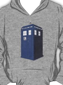 Tardis - Hand Drawn and Colored T-Shirt