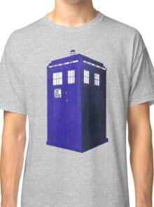 Tardis - Hand Drawn and Colored Classic T-Shirt