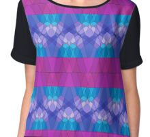 Peaceful Geometry  Chiffon Top
