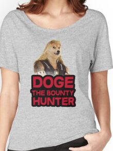 Doge (dog) the bounty hunter Women's Relaxed Fit T-Shirt