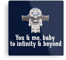 To Infinity & Beyond Metal Print