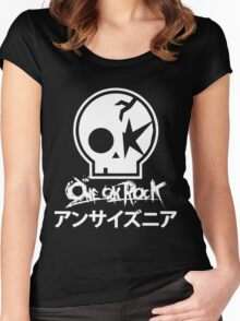 one ok rock Women's Fitted Scoop T-Shirt