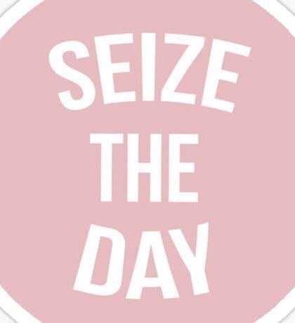 Newsies Seize The Day Pink Sticker