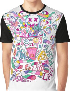 Pastel Drugs Graphic T-Shirt