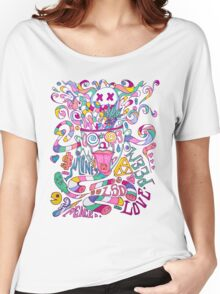 Pastel Drugs Women's Relaxed Fit T-Shirt