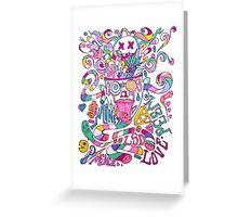Pastel Drugs Greeting Card