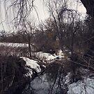 Winter Stream by KendraJKantor