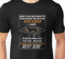Doberman Owner Gifts-Doberman Pinscher Prayer Shirt Unisex T-Shirt