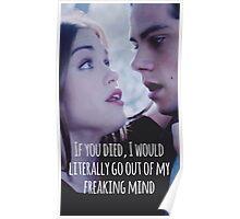 Stydia Teen Wolf Poster