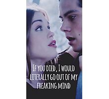 Stydia Teen Wolf Photographic Print