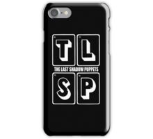 the last shadow puppets iPhone Case/Skin