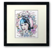 Melanie Martinez- Crybaby Original Fan Art  Framed Print