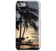 Floating Lantern Sunset iPhone Case/Skin