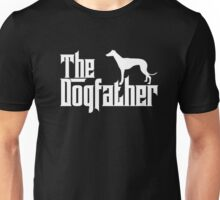 The Dogfather Greyhound T-Shirts Father Papa Dog Lover Gifts Unisex T-Shirt