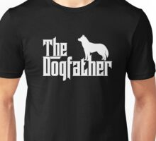 The Dogfather Siberian Husky T-shirts Father Dog Lover Gifts Unisex T-Shirt