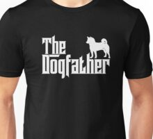 The Dogfather Shiba Inu T-Shirts Father Dad Dog Lover Gifts Unisex T-Shirt