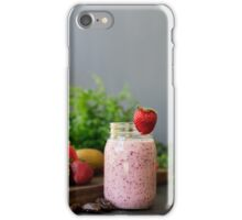 Strawberry Smoothie iPhone Case/Skin