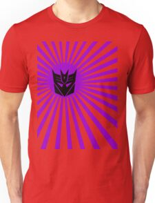 Decepticon Sunburst Unisex T-Shirt