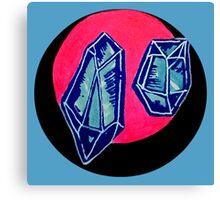 blue quartz Canvas Print