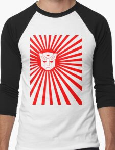 Autobot Sunburst Men's Baseball ¾ T-Shirt