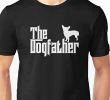 The Dogfather Chihuahua T-Shirts Father Papa Dog Lover Gifts Unisex T-Shirt