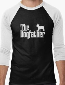 The Dogfather Bull Terrier T-shirt Dog Lover Gifts Men's Baseball ¾ T-Shirt