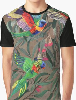 Birds from Paradise. Rosellas Graphic T-Shirt
