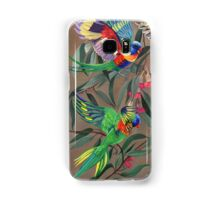Birds from Paradise. Rosellas Samsung Galaxy Case/Skin