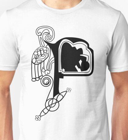 Kells Letter F Unisex T-Shirt