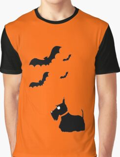 Scottie Dog 'Halloween' Graphic T-Shirt