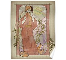 Kitsune Masquerade Poster