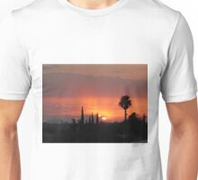 Tuscon sunset Unisex T-Shirt