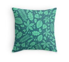 MCM Foliis Throw Pillow