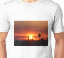 Incredible Tuscon sunset Unisex T-Shirt
