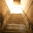 Staircase to the rooftop. by YoPedro