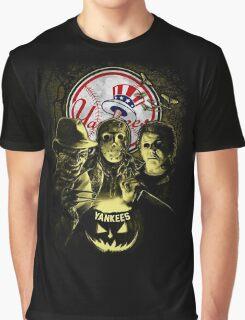 New York Yankees Halloween T-shirt  Graphic T-Shirt