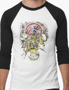 New York Yankees Halloween T-shirt  Men's Baseball ¾ T-Shirt