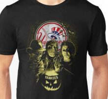 New York Yankees Halloween T-shirt  Unisex T-Shirt