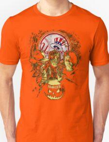 New York Yankees Halloween T-shirt  Unisex T-Shirt