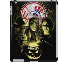 New York Yankees Halloween T-shirt  iPad Case/Skin