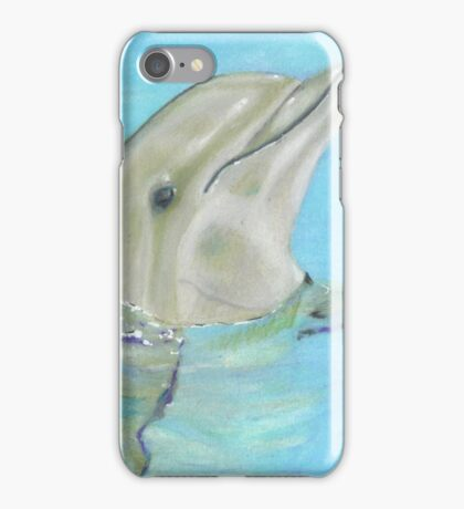 Playing Dolphin  iPhone Case/Skin