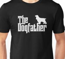The Dogfather English Springer Spaniel Shirts Dog Lover Gift Unisex T-Shirt
