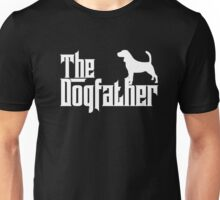 The Dogfather Beagle T-Shirt Father Dad Papa Dog Lover Gift Unisex T-Shirt