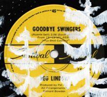 Goodbye Swingers Sticker