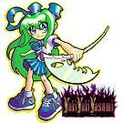 Devoured By Japanese Schoolgirls - Green Girl by YukiYukiYasumi