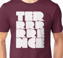 Terrrrrrence? White Unisex T-Shirt